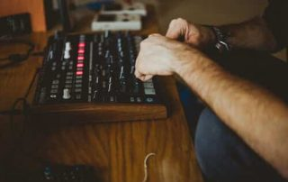 What does a music producer do